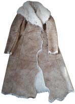 C.P. Company Montgomery Montgomery Beige Faux fur Coat for Women