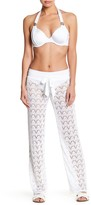 Ach'e A Che Solid Knit Front Tie Pant