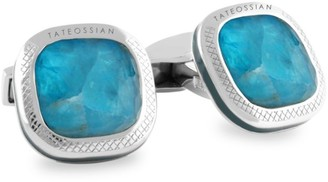 Tateossian Doppione Cushion Cufflinks