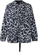 Marni Flutter print jacket - men - Cotton/Polyimide - 48