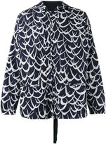 Marni Flutter print jacket - men - Polyimide/Cotton - 48