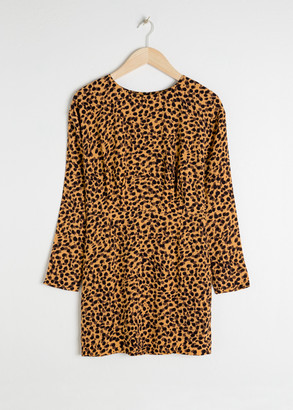 And other stories Leopard Print Dress