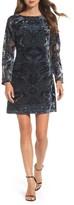 Vince Camuto Women's Velvet Burnout Sheath Dress