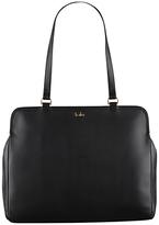 Tula Nappa Originals Leather Large Tote Bag, Black