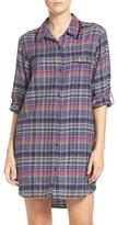 DKNY 'Boyfriend' Print Sleep Shirt