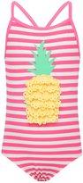 M&Co Minoti pineapple print swimsuit
