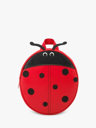 Cath Kidston Children's Lovebugs Ladybird Backpack, Red