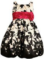 Bonnie Jean abstract floral dress - girls 4-6x