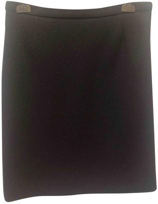 Louis Vuitton Black Wool Skirts