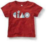 Tea Collection Ciao Graphic T-Shirt (Baby & Toddler Boys)