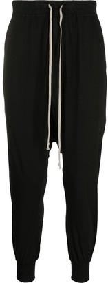 Rick Owens Drop-Crotch Drawstring Trousers