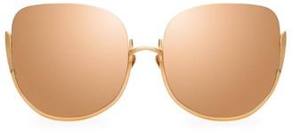 Linda Farrow 847 C3 Kennedy Oversized Sunglasses