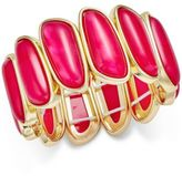 Charter Club Gold-Tone Colored Shell Bracelet, Created for Macy's