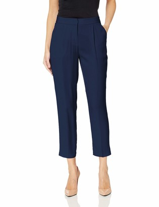 Armani Exchange A|X Women's Crepe Classic Structured Trouser