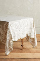 Anthropologie Ribboned Fronds Tablecloth