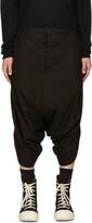 Niløs Black Short Sarouel Trousers