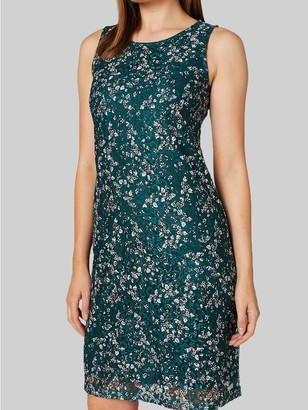 M&Co Izabel ditsy floral sleeveless lace shift dress