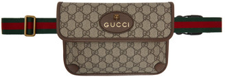 Gucci Beige GG Supreme Belt Bag
