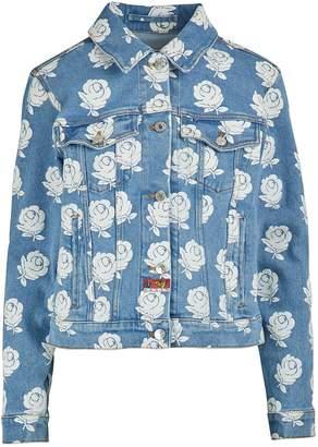 Kenzo Floral print denim jacket