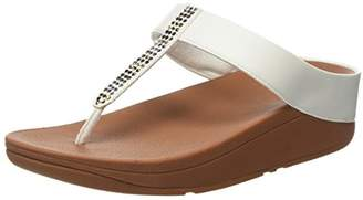 FitFlop Women's Fino Strobe Thong Heels Sandals,(40 EU)