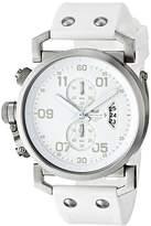 Vestal Men's OBCS003 USS Observer Chrono All White Chronograph Watch