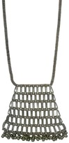 Slate & Salt Katha Pyramid Necklace