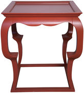 Muse Cassio Side Table, Red