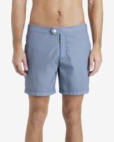 Ted Baker Pinstripe Swim Shorts Bright Blue