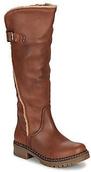 Musse & Cloud Musse Cloud CARLINA women's High Boots in Brown