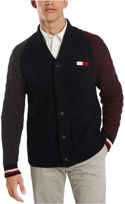 Tommy Hilfiger Men Coleman Colorblock Cardigan Sweater