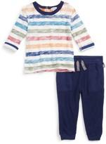 Splendid Infant Boy's Stripe T-Shirt & Pants Set