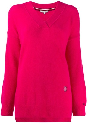 Tommy Hilfiger V-Neck Knit Jumper