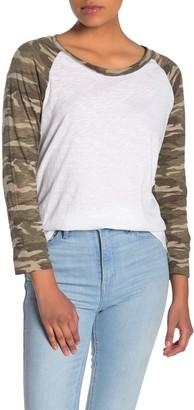 Caslon Lightweight Raglan T-Shirt (Regular & Petite)
