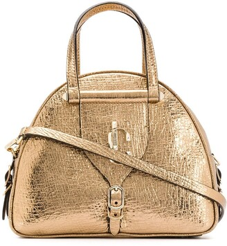 Jimmy Choo small Varenne Bowling tote