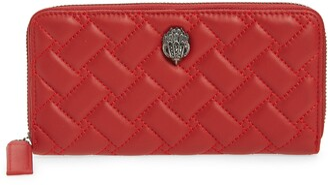 Kurt Geiger Eagle Leather Zip Around Wallet