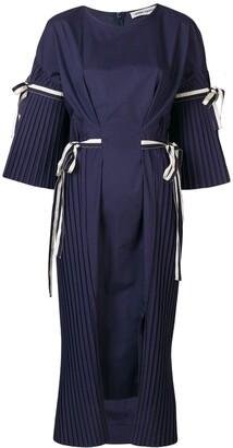 Henrik Vibskov plisse tie dress