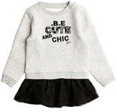 GUESS Two-Fer Sweatshirt Dress (2-5xy)