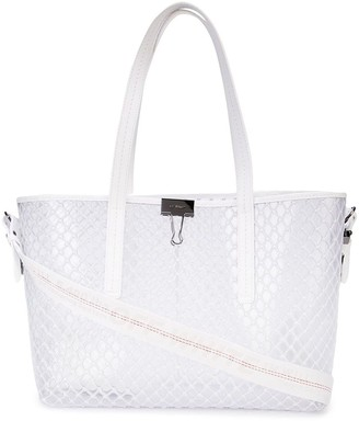 Off-White Off White transparent mesh tote