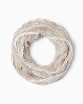 Charming charlie Open Confetti Infinity Scarf
