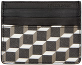 Pierre Hardy Black Perspective Cube FW02 Card Holder