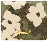 Muveil floral camouflage print wallet - women - Calf Leather - One Size