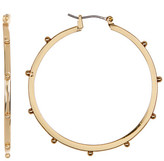 Kenneth Cole New York Ball Hoop Earrings