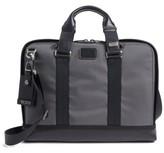 Tumi Men's Alpha Bravo Andrews Slim Briefcase - Grey