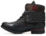 Rock & Candy Womens Spraypaint-q Closed Toe Ankle Fashion Boots, Black, Size 7.0.