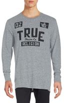 True Religion Heathered Long Sleeve T-Shirt