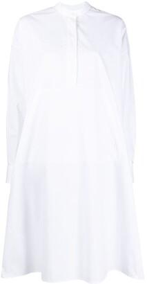 MM6 MAISON MARGIELA Pleated Back Shirt Dress