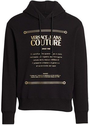 Versace Warrenty Label Hoodie
