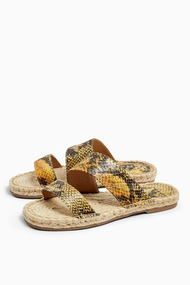 Topshop HANNAH Orange Espadrille Sandals