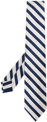Barba Silk Diagonal-Stripe Tie