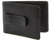 Boconi Men's 'Tyler' Money Clip Wallet - Black